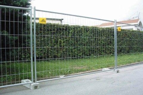 Noleggio di recinzione area eventi