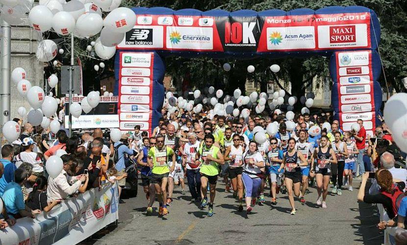 Transenne metalliche per maratona